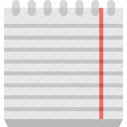 book, document, note, notebook, notes, paper icon