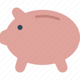 bank, banking, business, finance, money, piggy icon