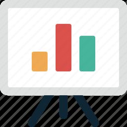 business, chart, conference, finance, graph, presentation, statistics icon