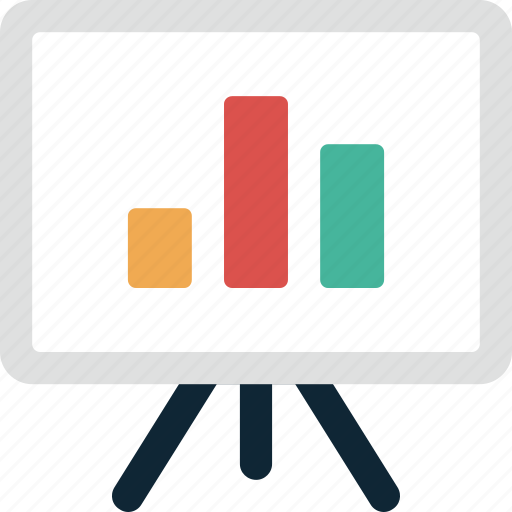business, chart, conference, finance, graph, presentation, statistics icon