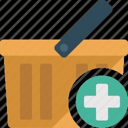 basket, business, buy, cart, ecommerce, shopping icon