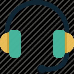 audio, headphones, headset, music, sound icon