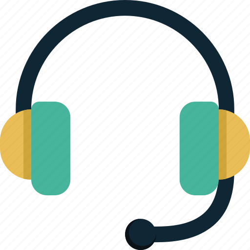 Headset, sound, headphones, music, audio icon - Download on Iconfinder