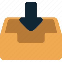 email, incoming, mail, message icon