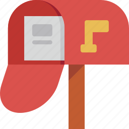 email, mail, mailbox icon