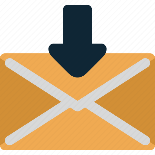 Mail, recieved, message, envelope, email, letter icon - Download on Iconfinder