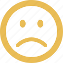 angry, emoticon, emotion, face, sad, smiley icon