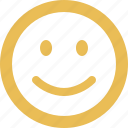 emoticon, emotion, face, happy, smile, smiley icon