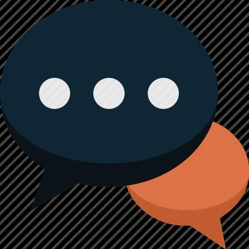 bubble, bubbles, chat, comment, communication, message, speech, talk icon
