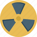 danger, explosion, nuclear, radiation, radioactive icon
