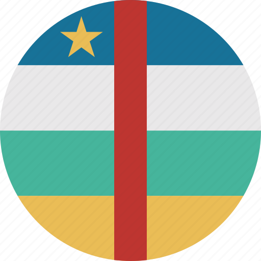 african, central, central african republic, republic icon