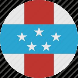 antilles, netherlands, netherlands antilles icon