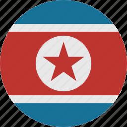 korea, north, north korea icon