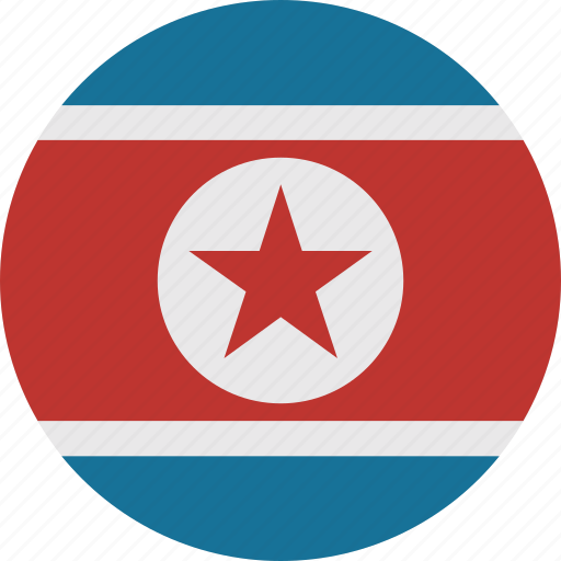 korea, north, north korea icon