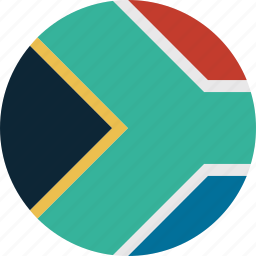 africa, south, south africa icon