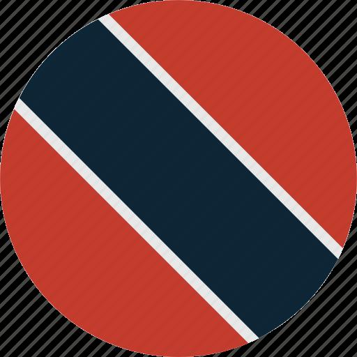 and, tobago, trinidad, trinidad and tobago icon