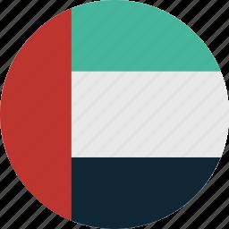 arab, emirates, uae, united, united arab emirates icon