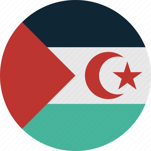 sahara, western, western sahara icon