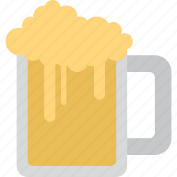 beer, drink, glass icon