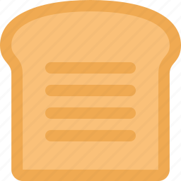 bread, cooking, eating, food, kitchen, restaurant icon