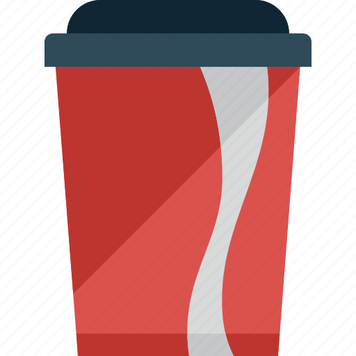 cocacola, cup, drink icon