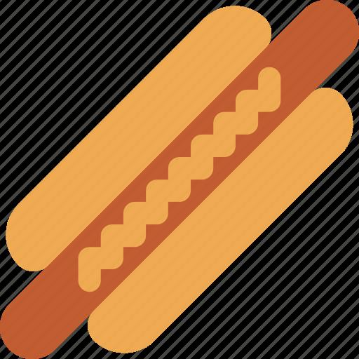 eating, food, hotdog, kitchen, meat, restaurant icon