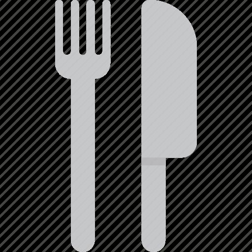 dinner, food, fork, kitchen, knife, restaurant icon