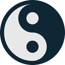 health, healthcare, medical, medicine, yan, yang, yin, ying icon