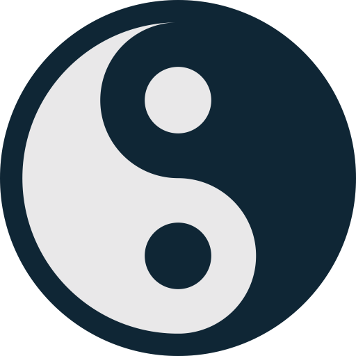 health, healthcare, medical, medicine, yan, yang, yin, ying icon