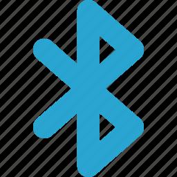bluetooth, signal, wireless icon