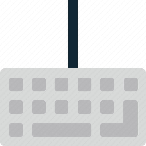 hardware, input, keyboard icon