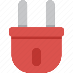 charge, electric, electricity, energy, plug, power, powercord icon