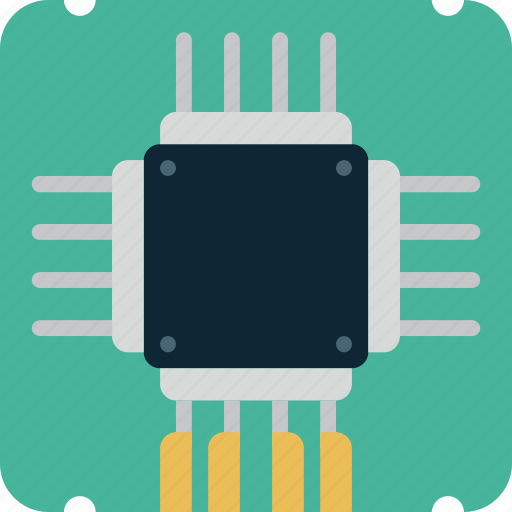 chip, computer, memory, microchip, processor icon
