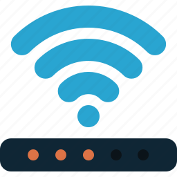 connection, internet, network, router, signal, wifi, wireless icon