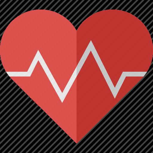 health, healthcare, heart, medical, medicine, pulse, pulse heart icon