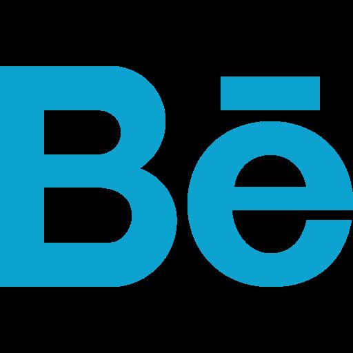 behance, logo, portfolio, social, social network icon