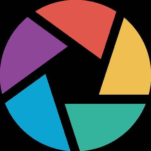 google, logo, picasa, picassa, social icon