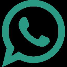 bubble, chat, logo, message, talk, whatsapp icon