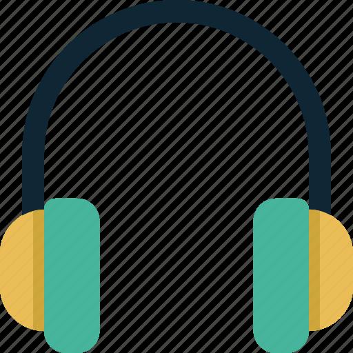 audio, headphone, headphones, media, music, sound icon