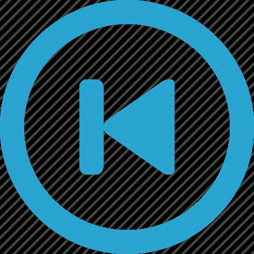 control, previous icon