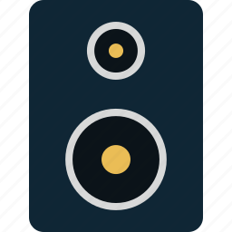 audio, media, music, sound, speaker icon