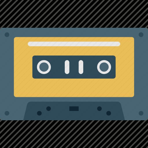 audio, media, multimedia, player, tape icon