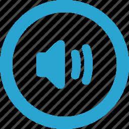 control, up, volume icon