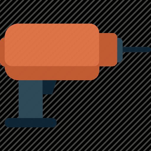 drill, machine, tool icon