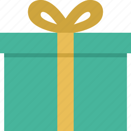 box, christmas, gift, package icon