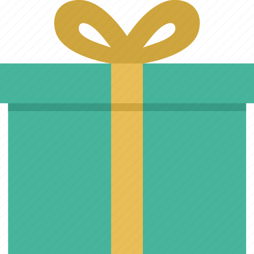 Gift, box, christmas, package icon
