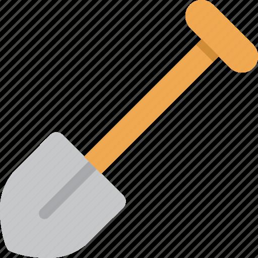 shovel, tool icon