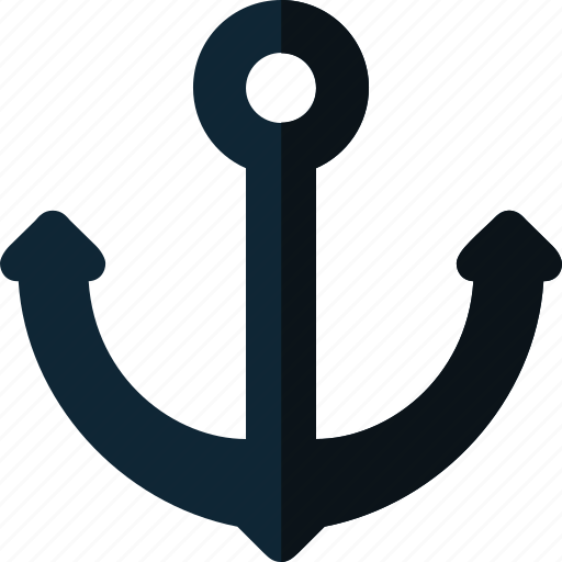 anchor, marine, sea, ship icon