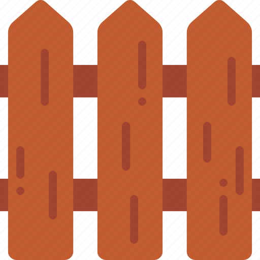 fence, realty, wood icon