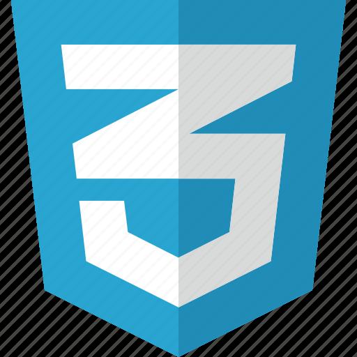 code, css, text icon
